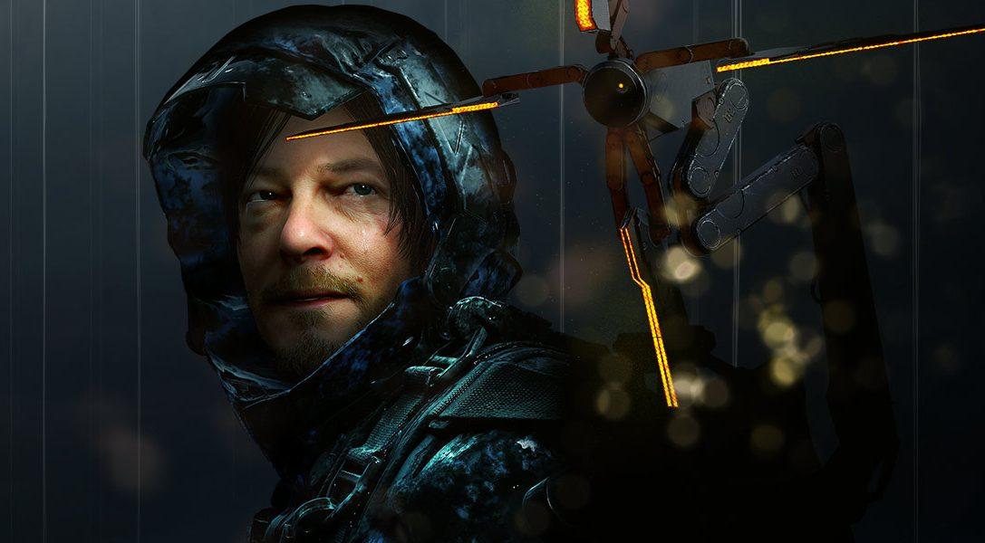 Hideo Kojima reveals Death Stranding cover art and more at San Diego Comic-Con