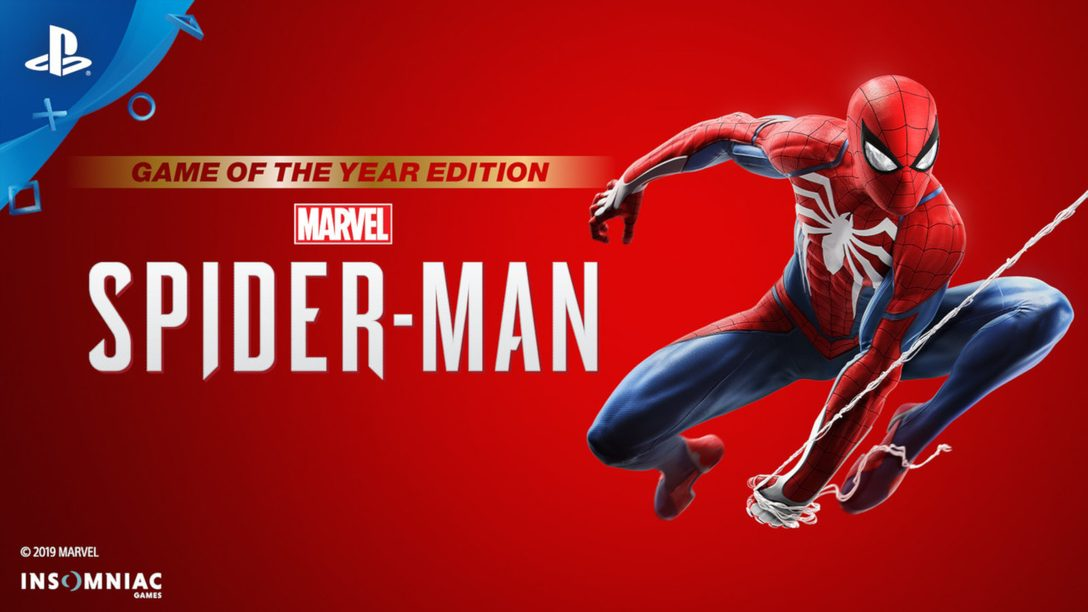 Marvel's Spider-Man: Game of the Year Edition Available Today
