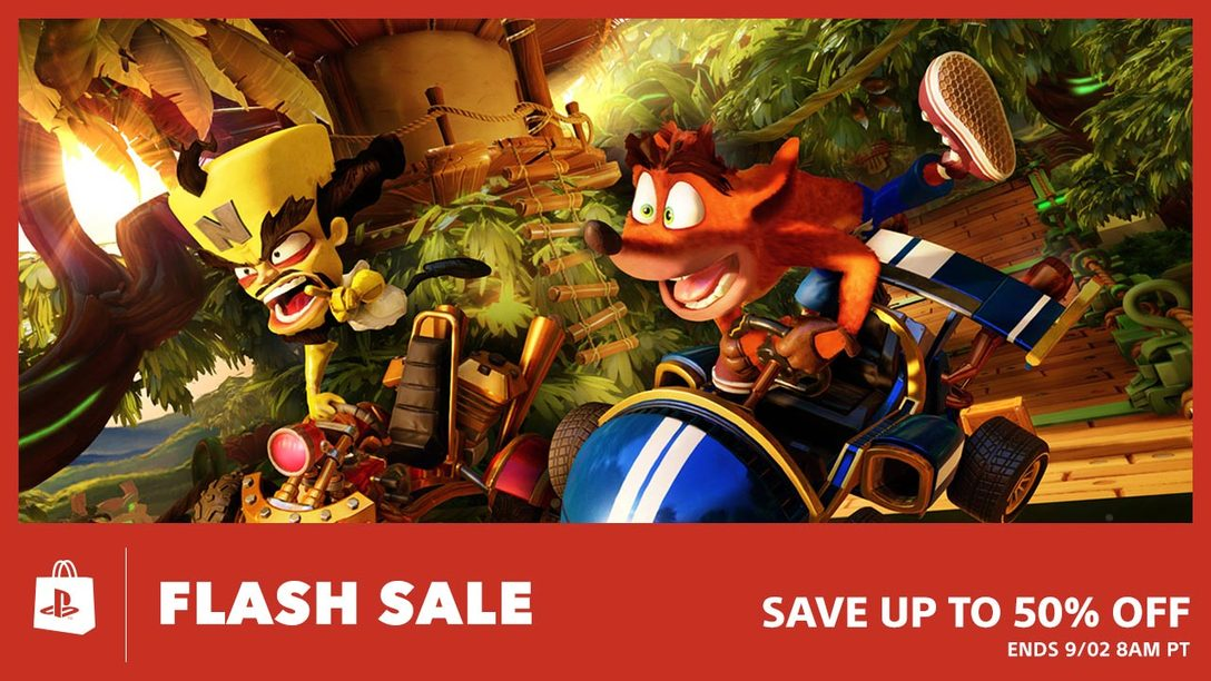 Flash Sale! Up To 50% Off This Weekend