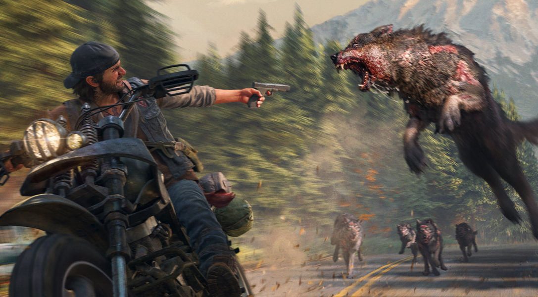 Play taxi driver in a race against the clock with Days Gone's Dead Don't Ride Challenge