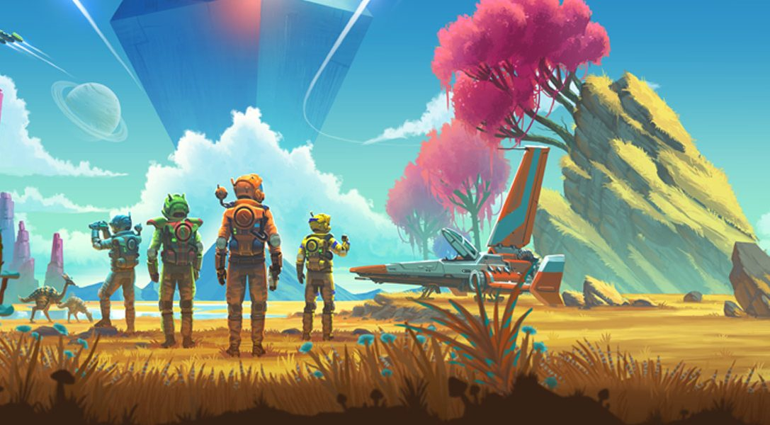 No Man's Sky: Beyond launches this month on PS4