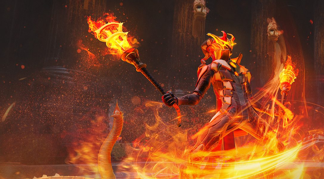 Set the world ablaze with Skyforge's new Firestarter class, coming to PS4 in September