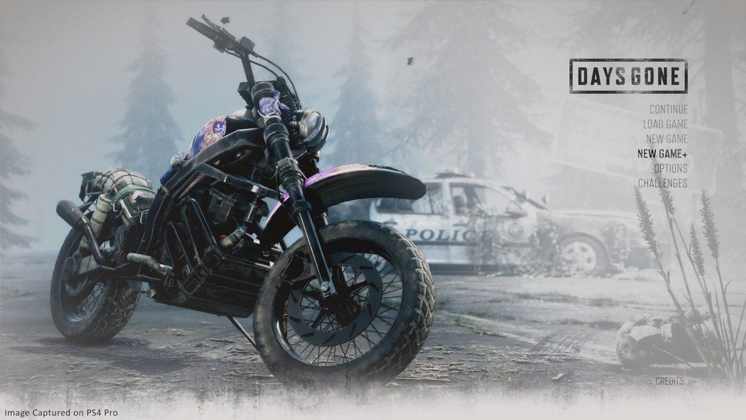 Days Gone Gets New Game Plus Mode September 13