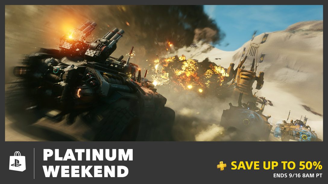 Save Up To 50% During Plus Platinum Weekend