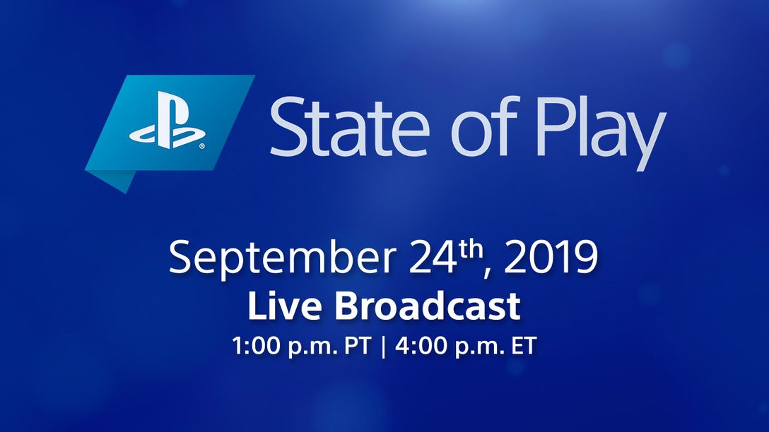 Today: State of Play Airs Live at 1pm Pacific