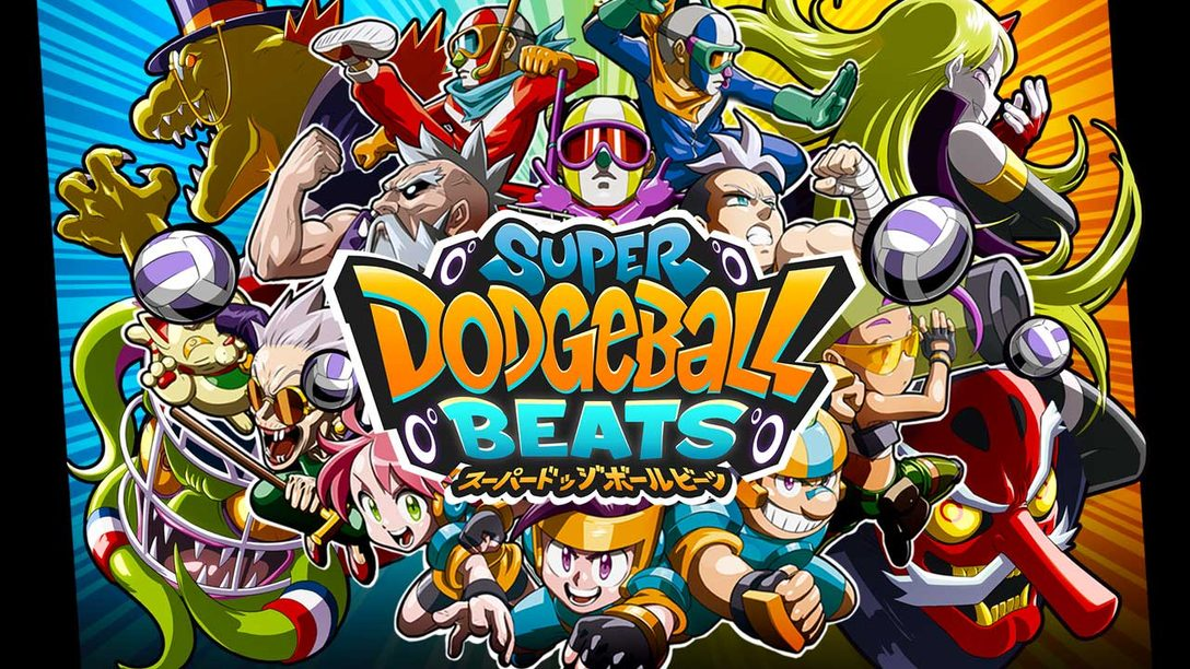 Dinosaurs, Robots, and Aliens — The Art of Super Dodgeball Beats, Out Now
