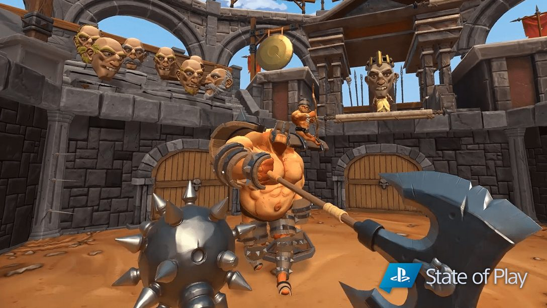 Gorn Battles to PS VR This Winter
