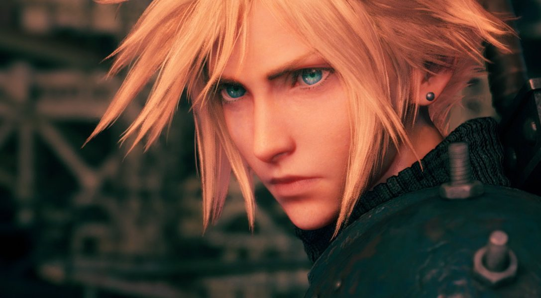 Get your first look at Final Fantasy VII Remake's box art