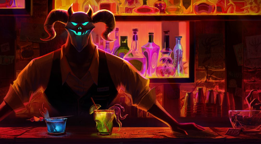 The only way to escape the afterlife in comedic buddy adventure Afterparty is to pick a drink and get talking