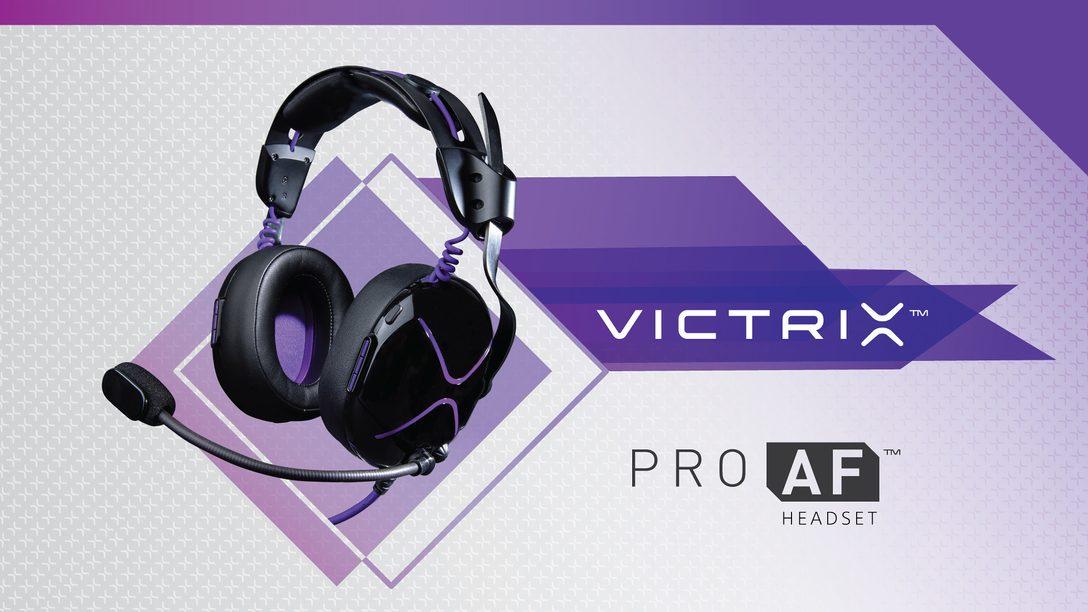 The Victrix Pro AF Headset for PS4 Lands November 8