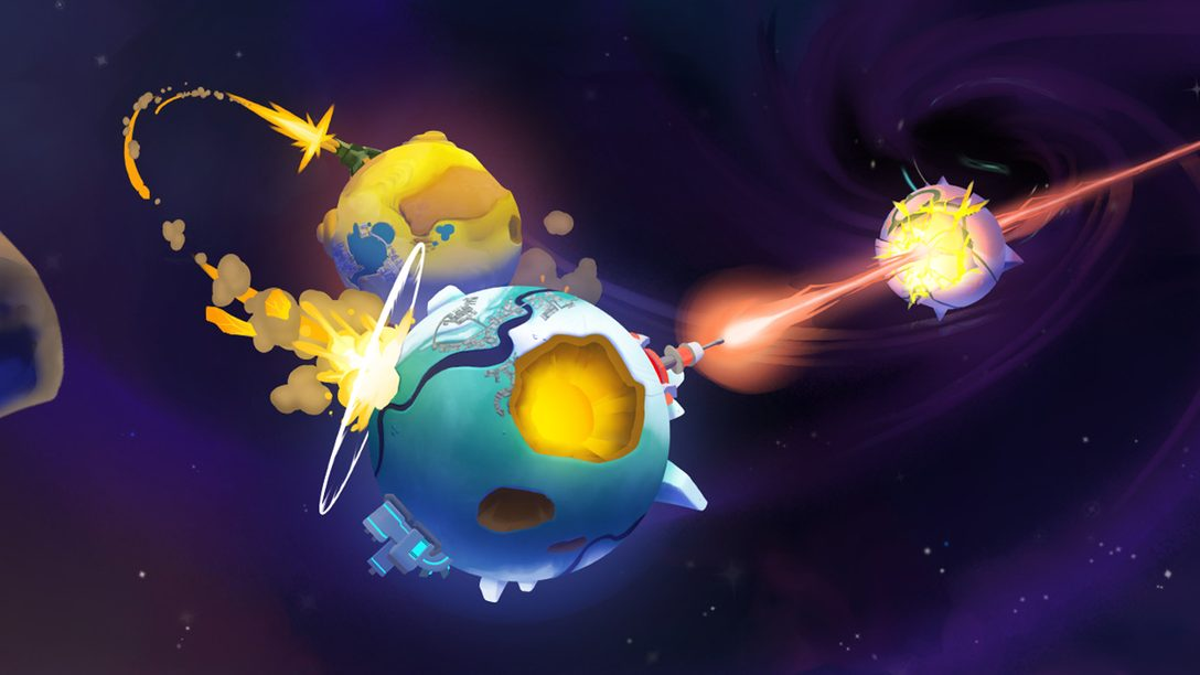 Breaking Down the Cosmic Chaos of Worbital, Out Today on PS4