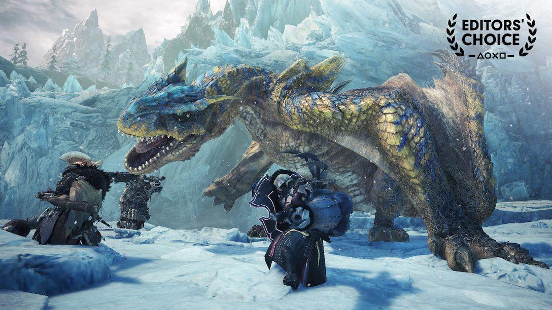 Editors' Choice: Monster Hunter World: Iceborne Raises the Series' Bar