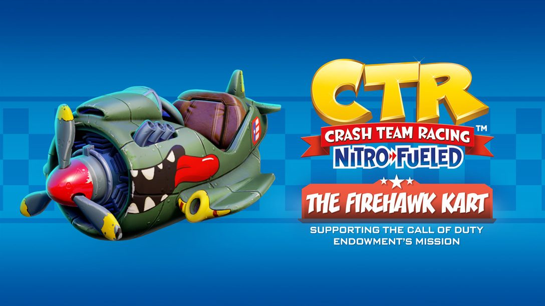 Look Fly for a Cause: The Story Behind Firehawk in CTR Nitro-Fueled