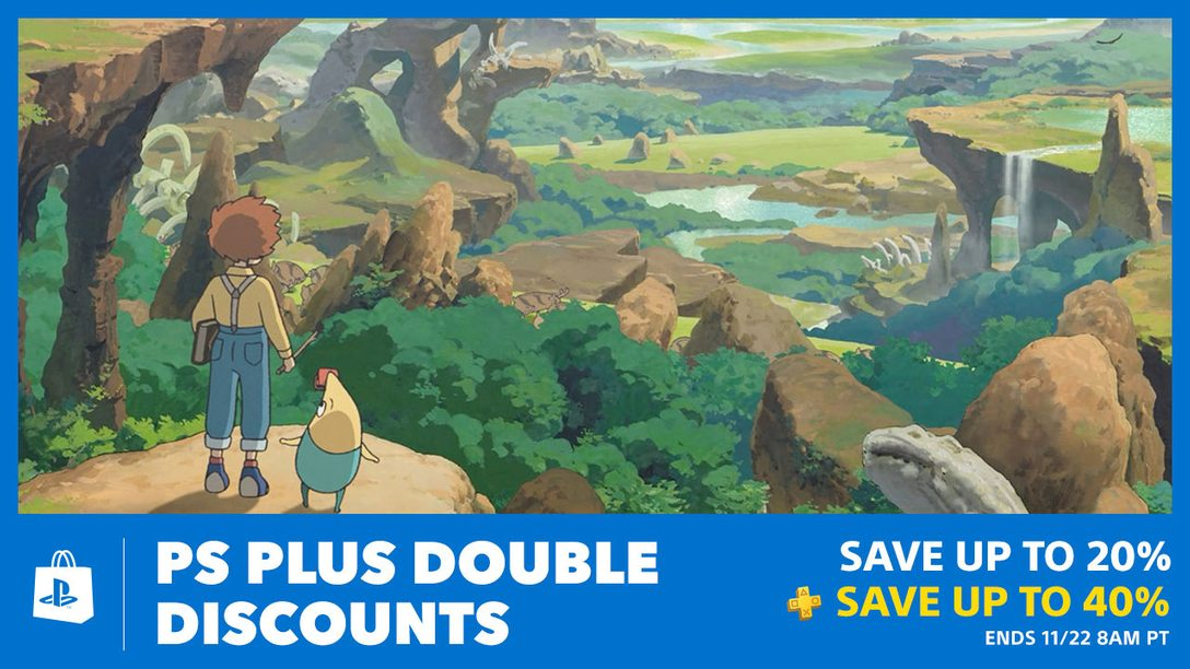 PS Plus Double Discounts Await at PlayStation Store