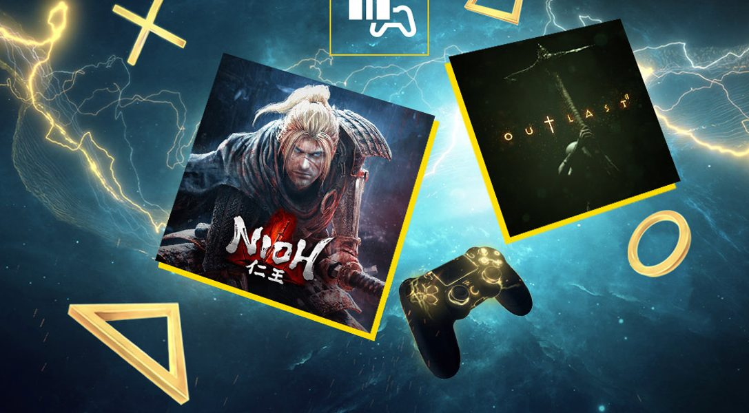 Nioh and Outlast 2 are your PlayStation Plus games for November