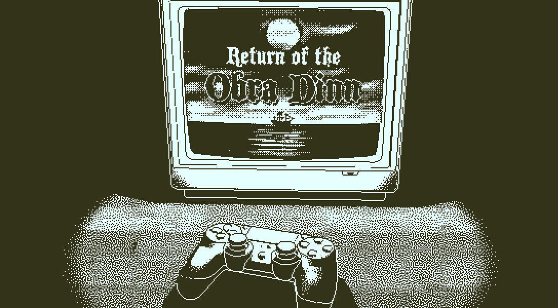 How Lucas Pope created the unique 1-bit art style of Return of the Obra Dinn, out this week on PS4
