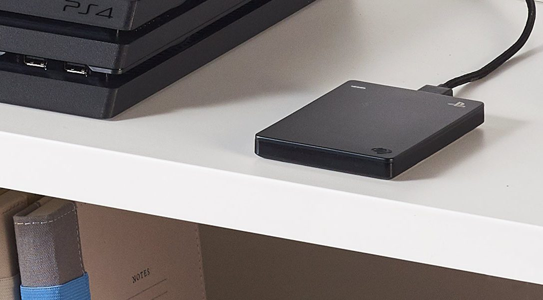 Seagate's 2TB Game Drive for PS4 comes out today in Europe