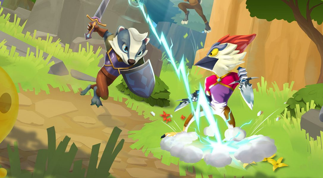 New ReadySet Heroes update brings cross-play, new combat areas to the multiplayer brawler today