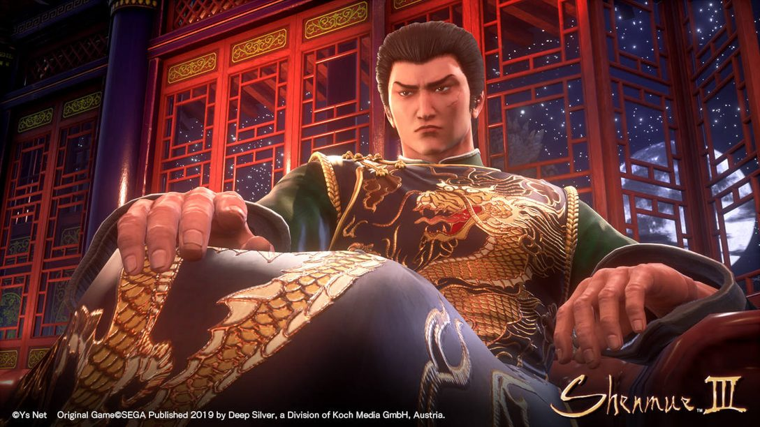 Shenmue III Out November 19: Interview With Yu Suzuki
