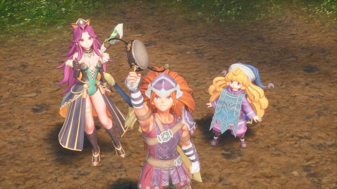 """Classing"" Up Trials of Mana with New Designs"