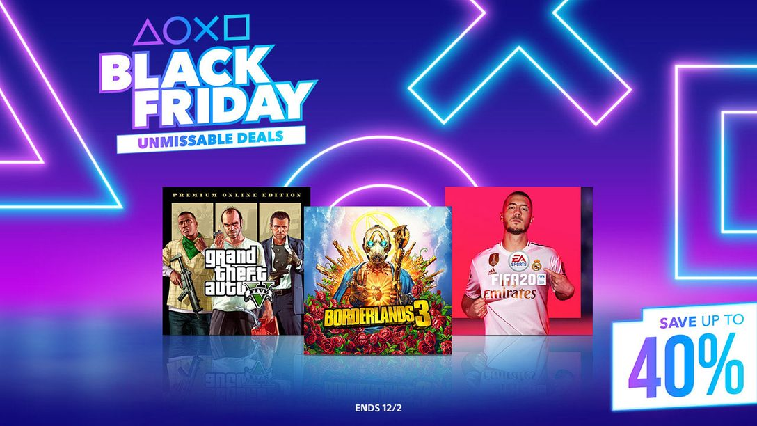 Black Friday Starts Early at PlayStation Store