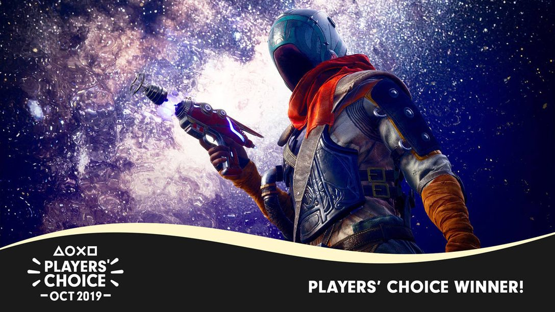 Players' Choice: The Outer Worlds Voted October's Best New Game