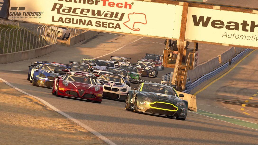 Gran Turismo Sport Adds Laguna Seca Raceway and 7 New Cars
