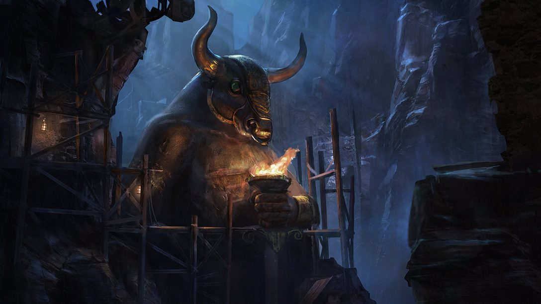 Santa Monica Studio Celebrates 20 Years with Concept Art from God of War