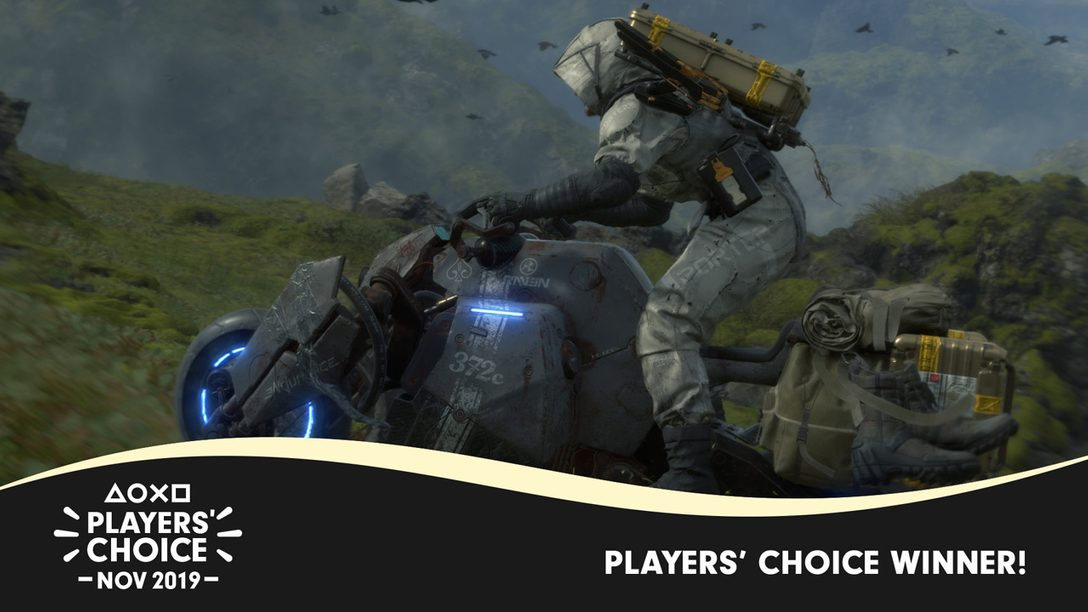 Players' Choice: Death Stranding Voted November's Best New Game