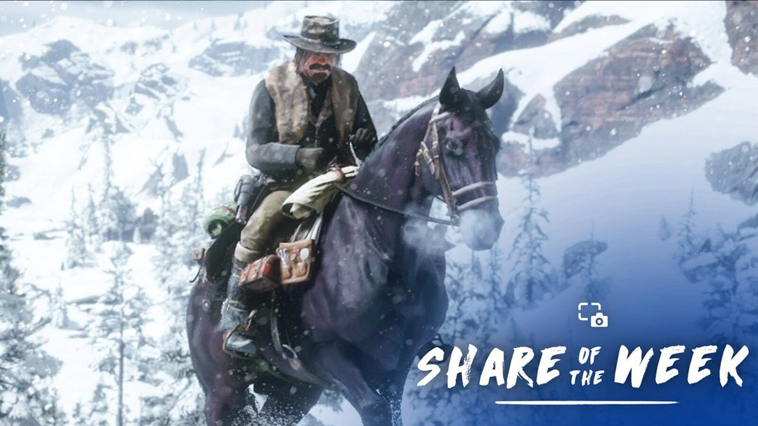 Share of the Week: Snowing