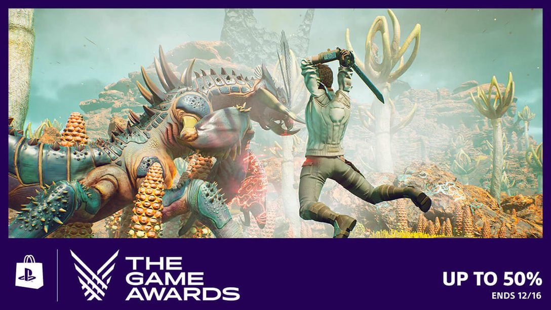 Flash Sale! Save Up to 50% on The Game Awards Nominees