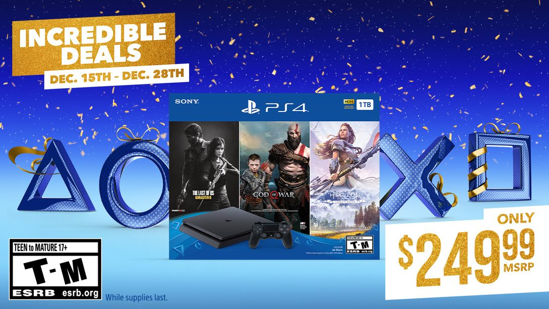 Last-Minute Holiday Deals for PlayStation Fans