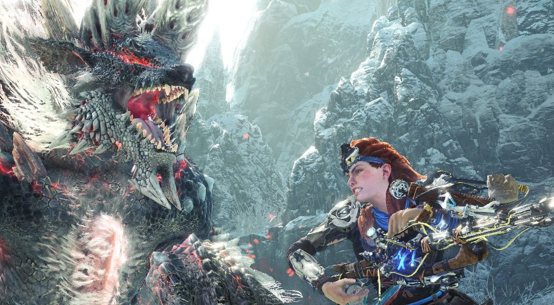 Monster Hunter World: Iceborne players can take part in a new Horizon Zero Dawn quest from today