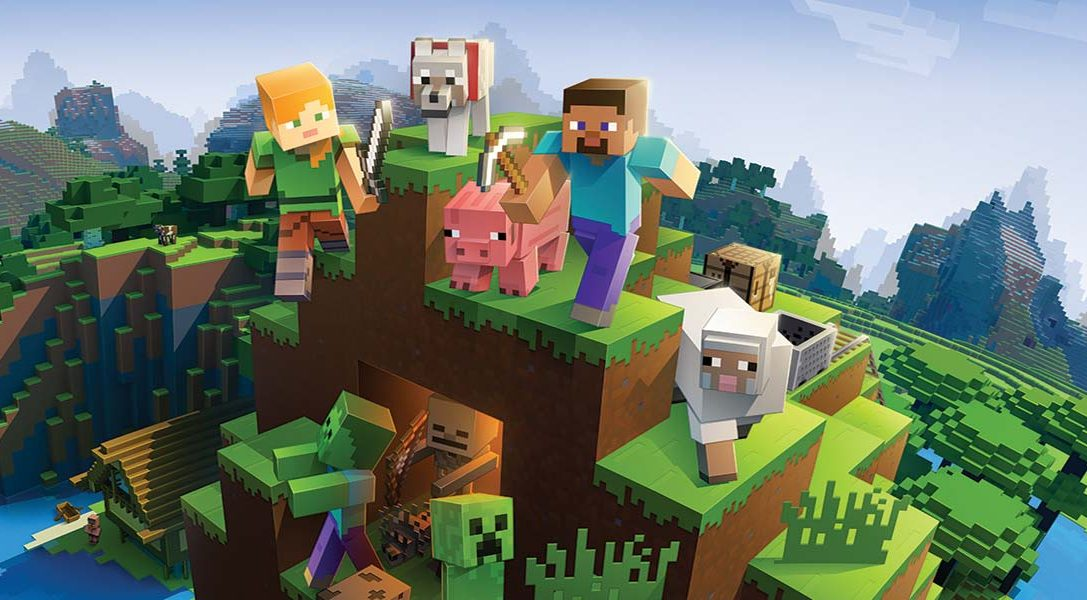 Minecraft Bedrock edition launches on PS4 tomorrow