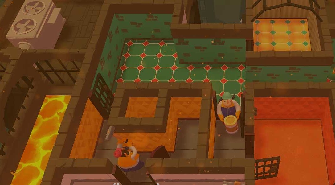 Race against the clock to renovate apartments in co-op party game Tools Up!, out tomorrow on PS4