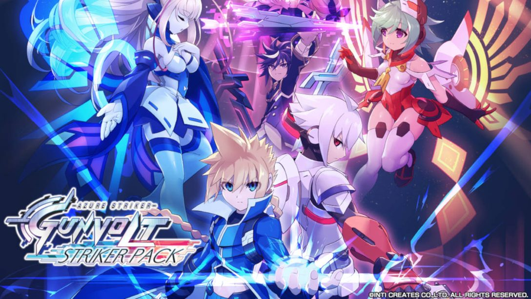 Azure Striker Gunvolt: Striker Pack Comes to PS4 April 23