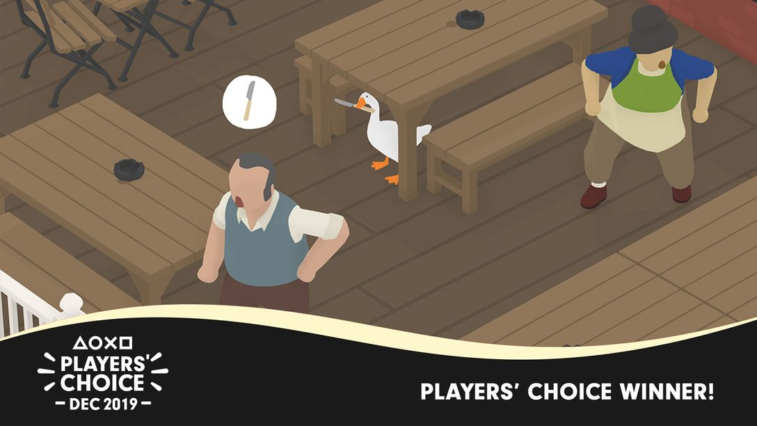 Players' Choice: Untitled Goose Game Voted December's Best New Game