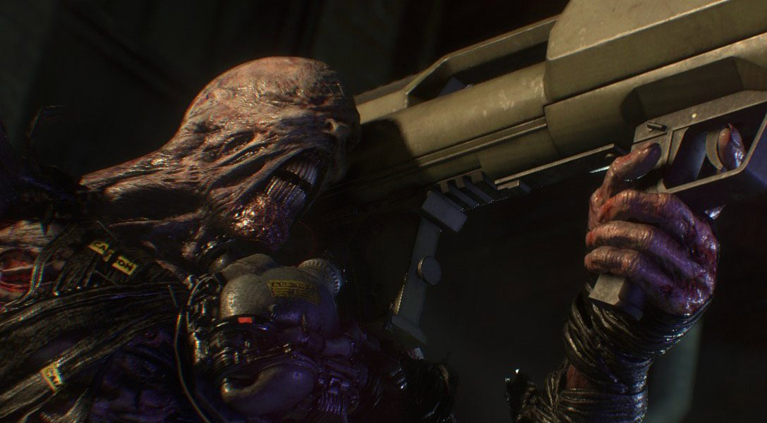 New Resident Evil 3 trailer and screens showcase Nemesis's monstrous makeover