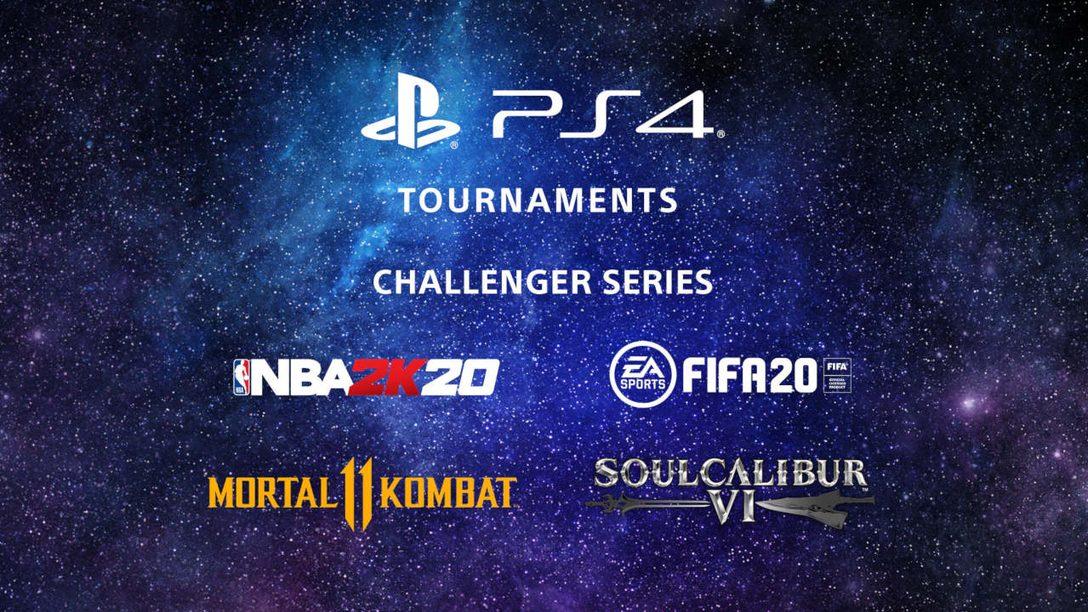 PS4 Tournaments Brings NBA 2K20 and Soul Calibur VI into the Mix