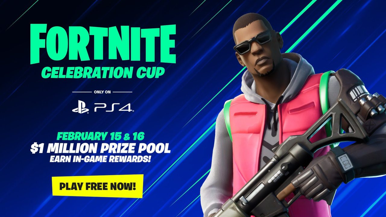 The Fortnite Celebration Cup Only On Ps4 Playstation Blog