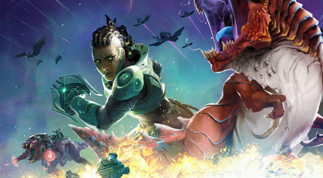 Age of Wonders: Planetfall unleashes its Tyrannosaurus update on PS4 Today