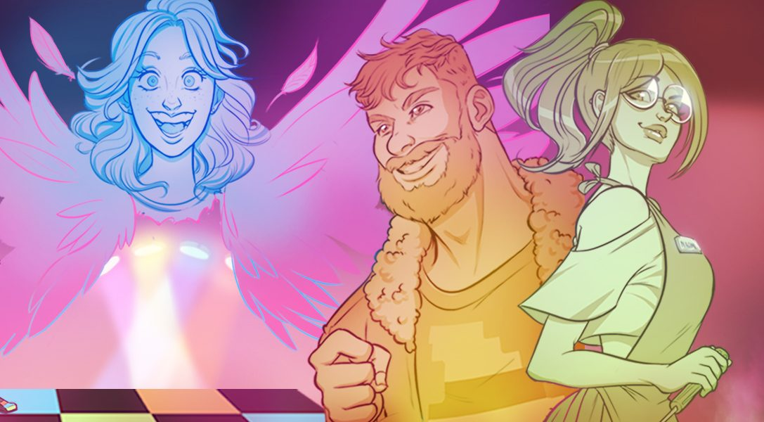Make friends and find true love in a thriving gaming community in PS4 visual novel Arcade Spirits