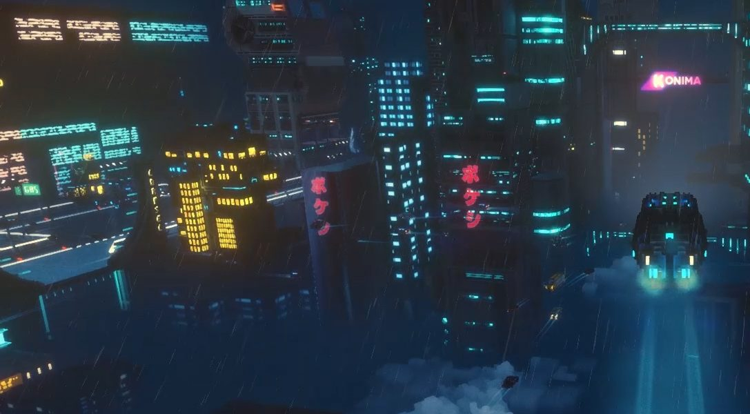 Explore a sci-fi metropolis as a delivery driver working the nightshift in Cloudpunk
