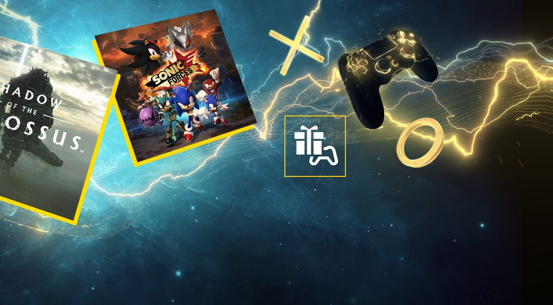 Shadow of the Colossus and Sonic Forces are your PS Plus games for March