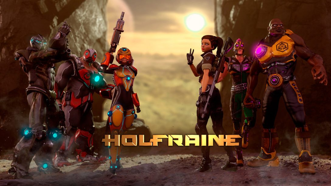 Dynamic Hero Shooter Holfraine Out Now on PS4