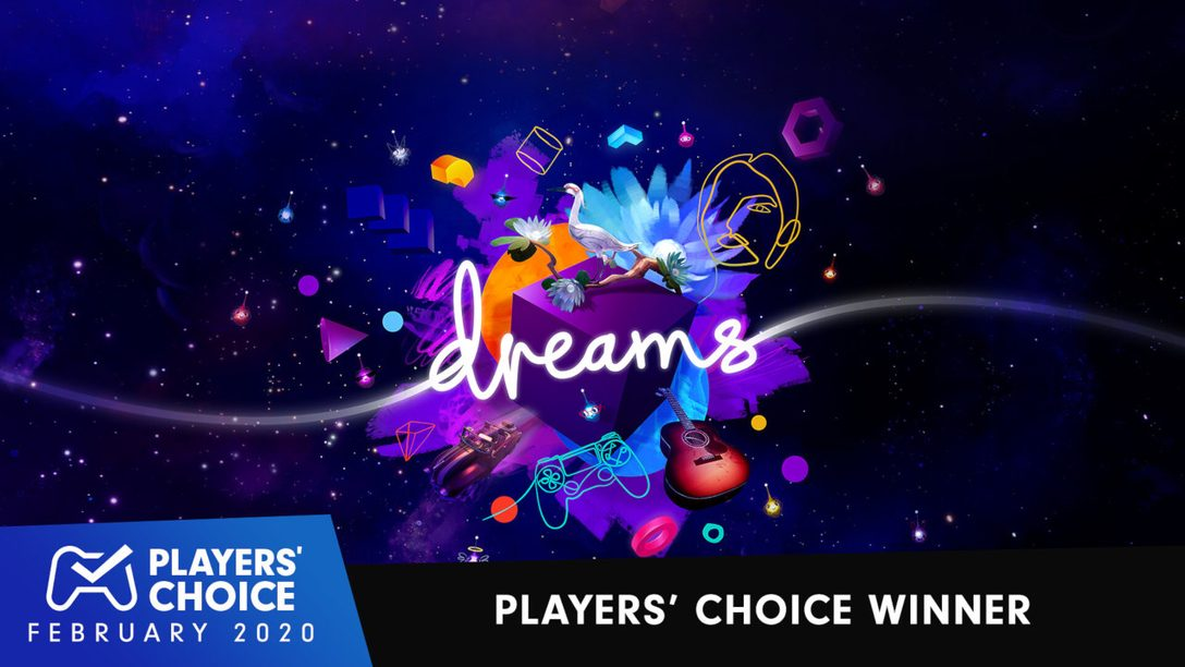 Players' Choice: Dreams Voted February's Best New Game