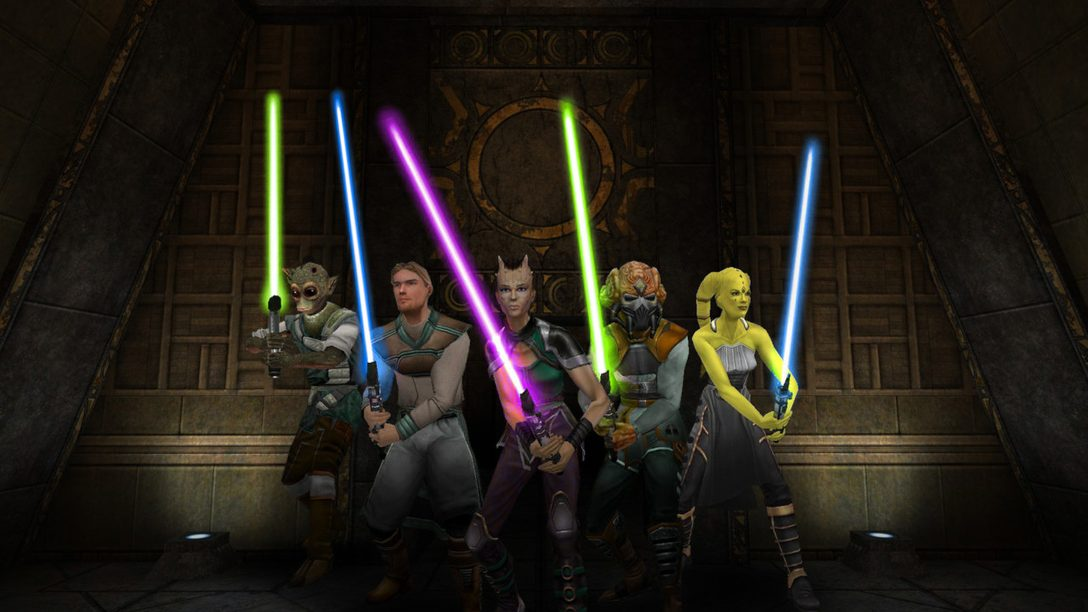 Star Wars Jedi Knight: Jedi Academy Launches on PS4 Today
