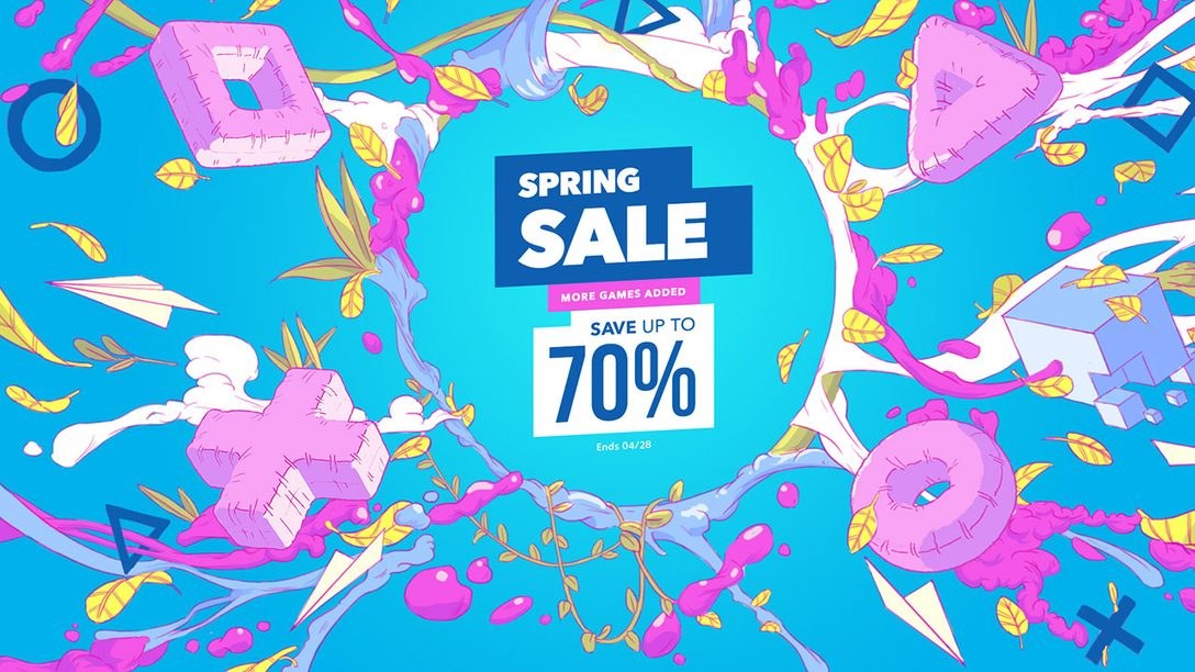 Spring Sale Blooms at PS Store