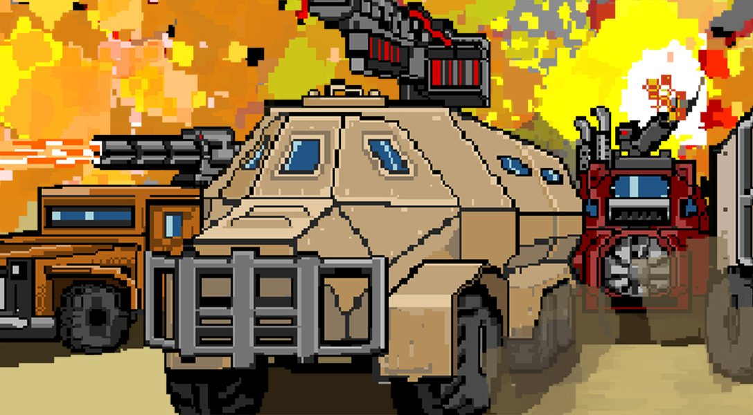 Convoy: A tactical roguelike crash-lands on PS4 on 8th April