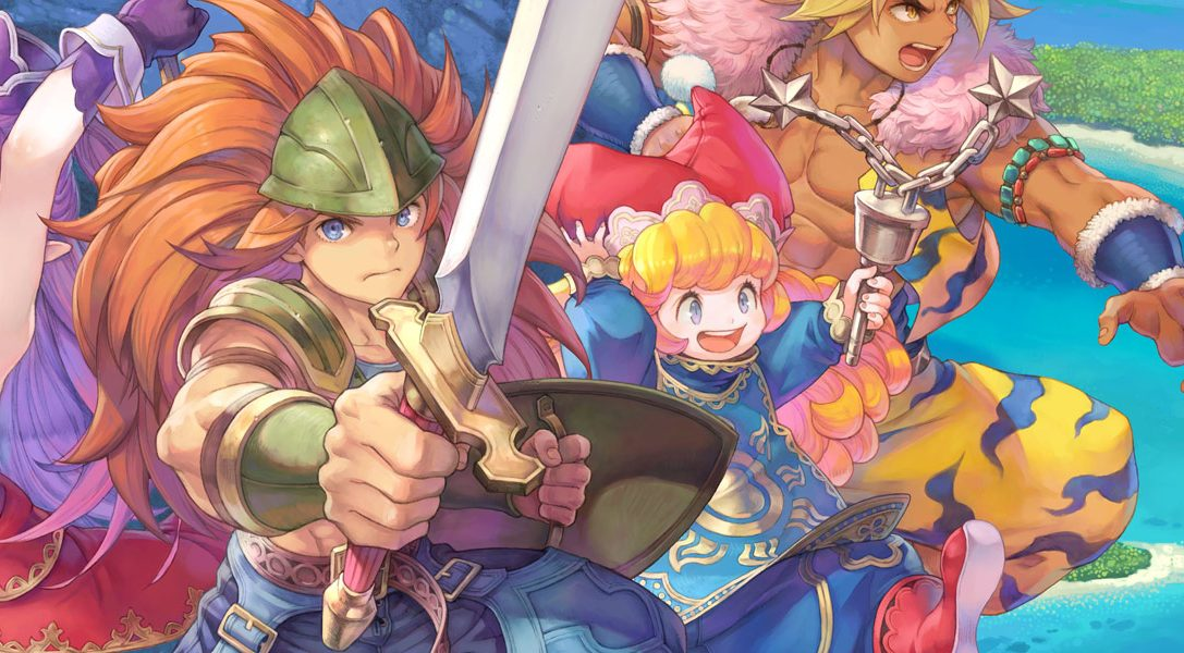 A close-up look at one of Trials of Mana's biggest bosses